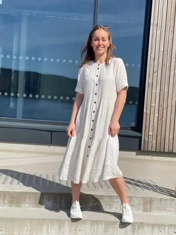 Bilde av LINEN DRESS - BEIGE SAND