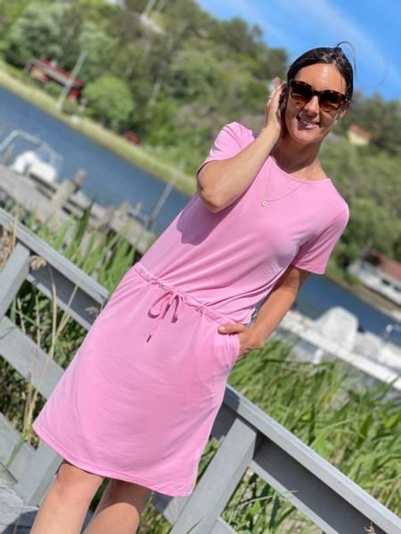 HONEY DRESS - BEGONIA PINK