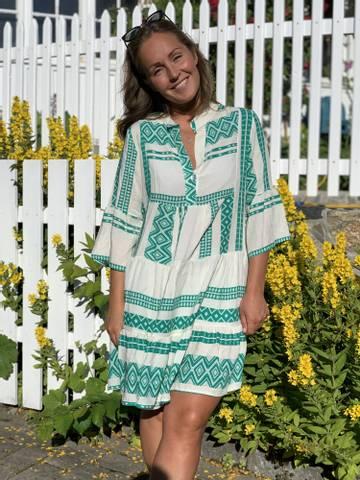 Bilde av INKA DRESS - GREEN