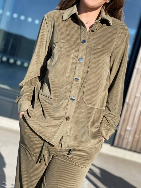 LOUNGE SHIRT - CAPERS