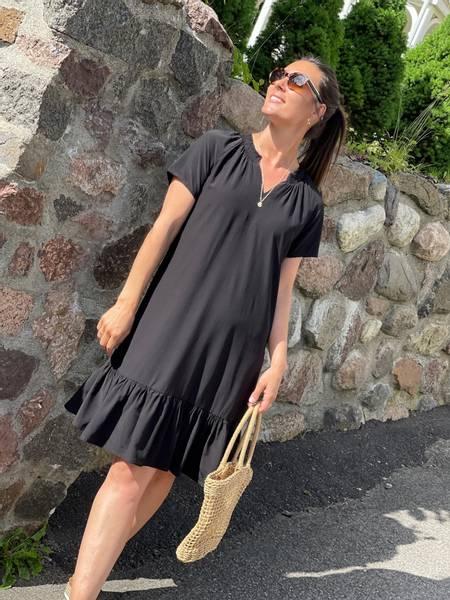MERALDA DRESS - BLACK