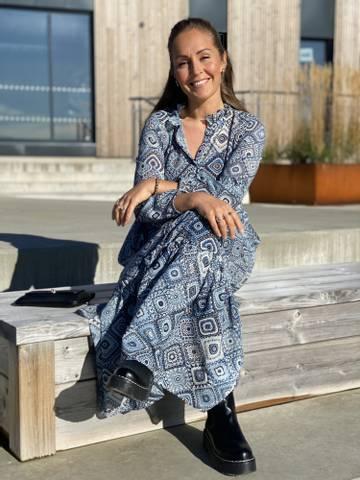 Bilde av ALICE DRESS - BLUE MIX