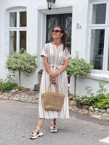 Bilde av CANDIE DRESS - TOASTED COCONUT