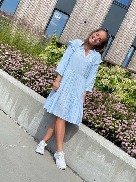 HANDI DRESS - LIGHT BLUE