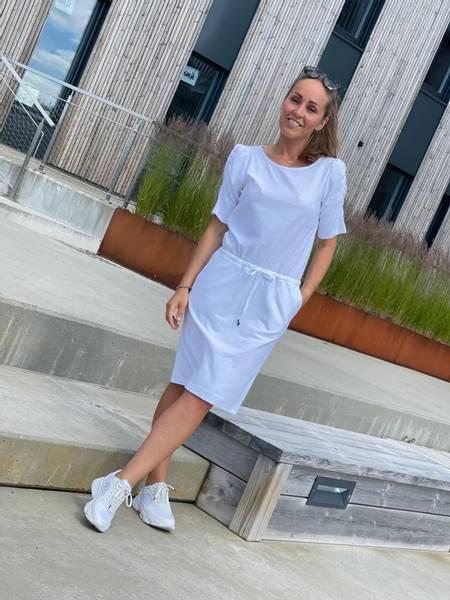 BLOND DRESS - BRILLIANT WHITE