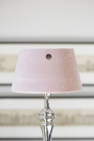 Bilde av RIVIERA MAISON - VELVET LAMPSHADE PREC. PINK