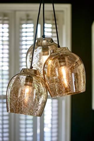 Bilde av RIVIERA MAISON - RUE DE TEMPLE TRIPLE LAMP