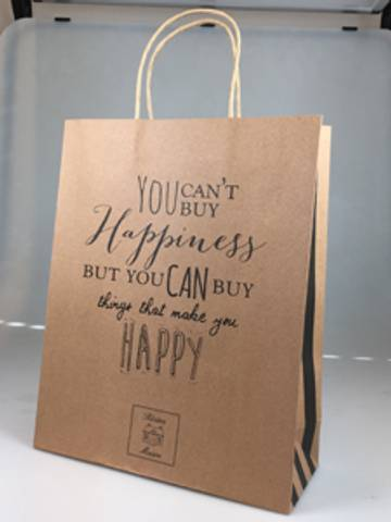 Bilde av RIVIERA MAISON - HAPPINESS PAPER BAG
