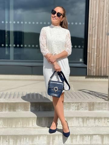 Bilde av VINNIA DRESS - CREAM