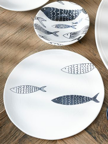 Bilde av RIVIERA MAISON - THE SEAFOOD CLUB DINNER PLATE