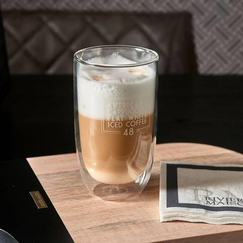 Bilde av RIVIERA MAISON - LOVE COFFEE DOUBLE WALL GLASS