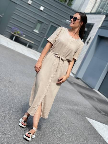 SIMPLY DRESS - BEIGE SAND