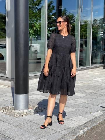 Bilde av NUCAROLLA DRESS - BLACK