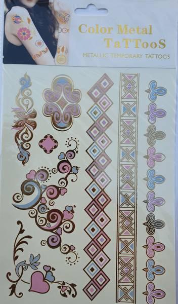 Bilde av Metallic tattoo nr. 3 Color-change