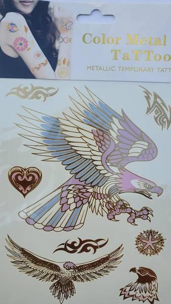 Bilde av Metallic tattoo nr. 2  Color-change