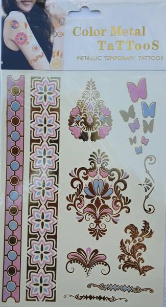 Bilde av Metallic tattoo nr. 4 Color-change