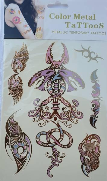 Bilde av Metallic tattoo nr. 5 Color-change