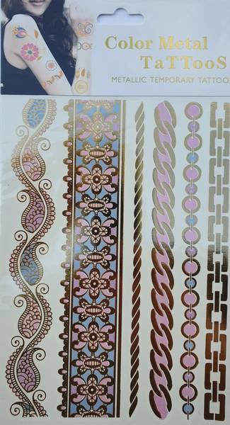 Bilde av Metallic tattoo nr. 6 Color-change