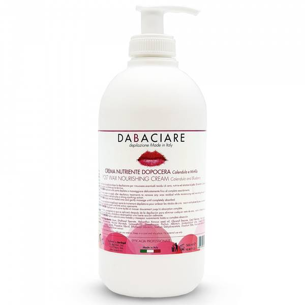 Bilde av Dabaciare After Wax Moisturizer Cream Ringblomst og Båbær 500 ml