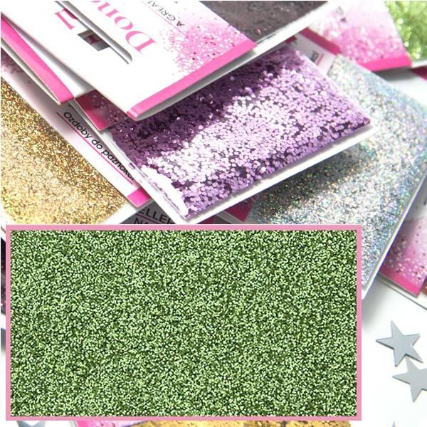 Bilde av Glitter - Lys Grønn
