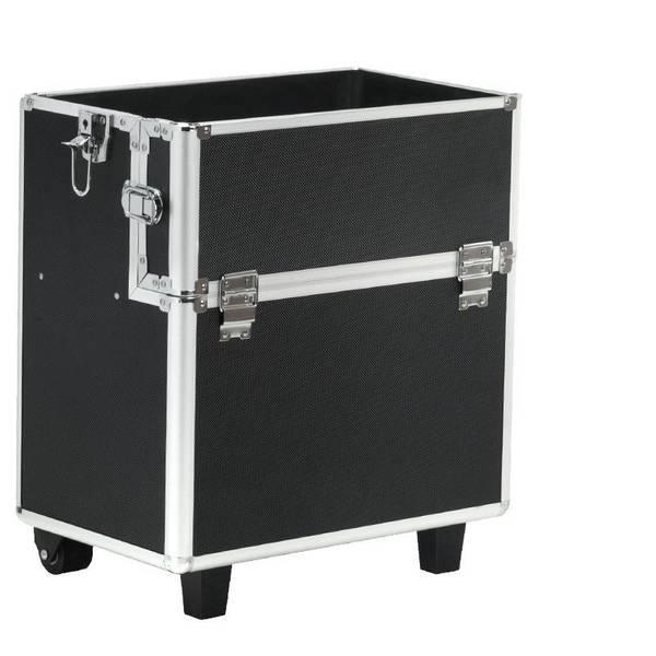 Bilde av Kosmetikkoffert / Trillekoffert i svart farge