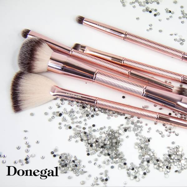Bilde av Sminkekost - DUO - Powder, highlighter and bronzer brush