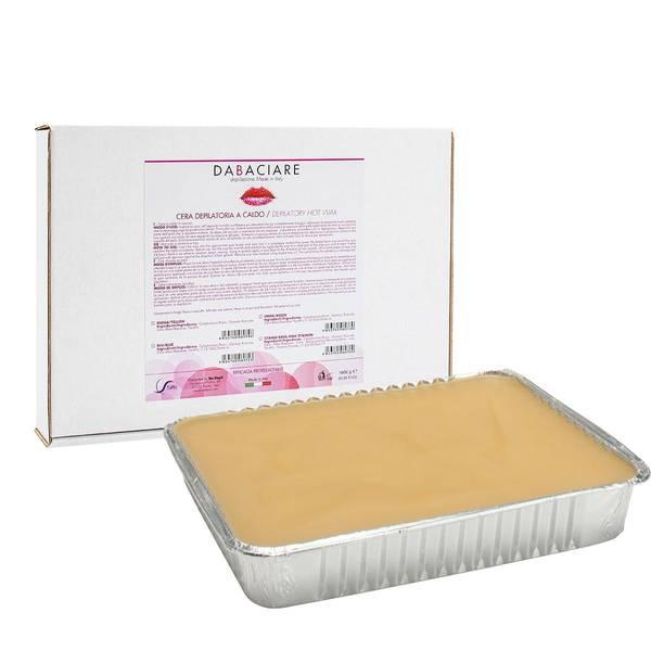 Bilde av Hot Wax Stripsfri - 1000g hardvoks plate  - Honey