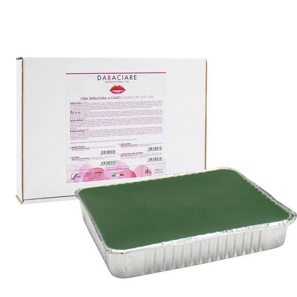 Bilde av Hot Wax Stripsfri - 1000g hardvoks plate - Chlorophyll