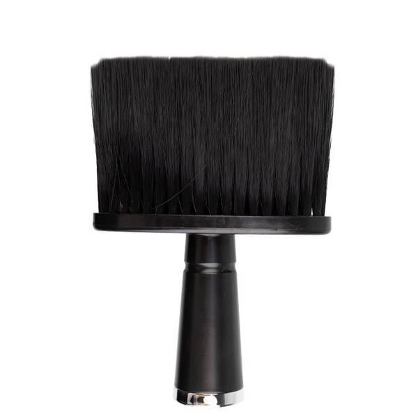 Bilde av Nakkekost med håndtak i sort tre med sort hår