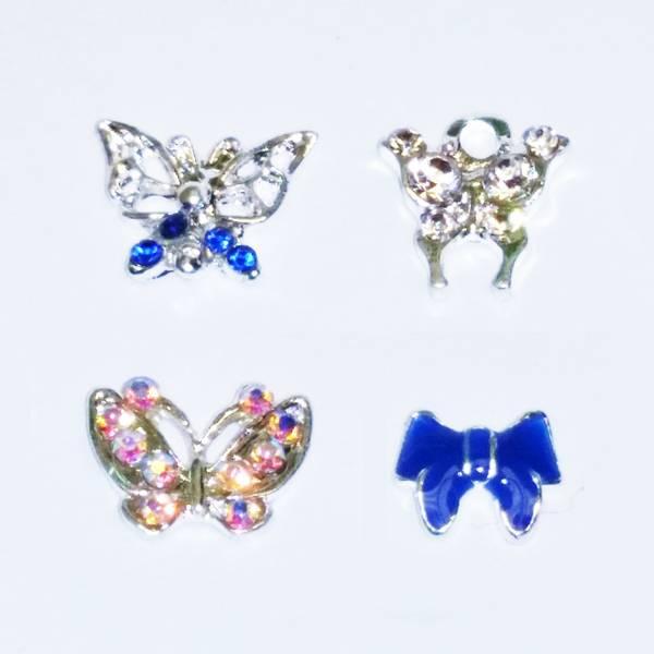 Bilde av Dekorpynt negl  - sommerfugl