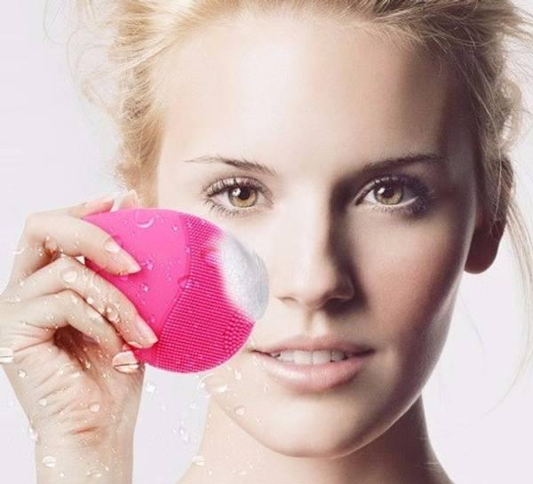 Bilde av Ansiktspad for rengjøring og blodsirkulasjon