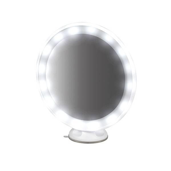 Bilde av Sminkespeil, oppladbart, sugekopp - 18.5 cm.
