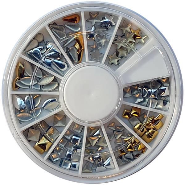 Bilde av Negldekor - Metalldekor i sølv og gull