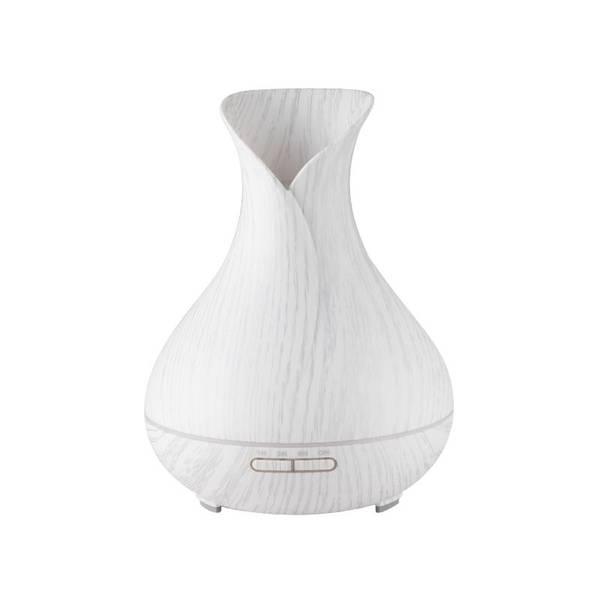 Bilde av Aroma diffuser SPA15 i hvitt  tre - 550ml. +timer - LED lys