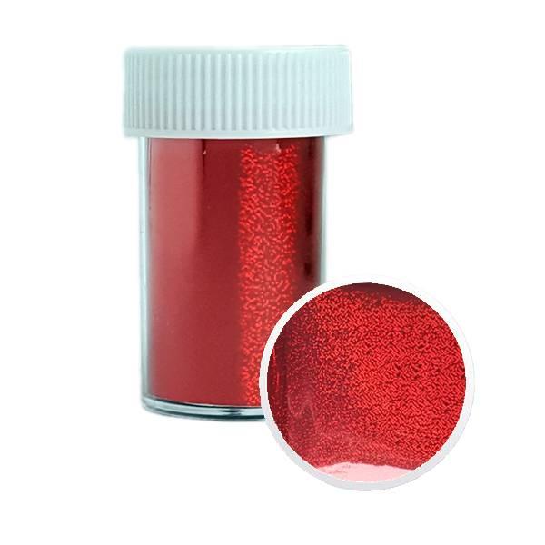 Bilde av Neglefolie nr. 16 Red Glitter