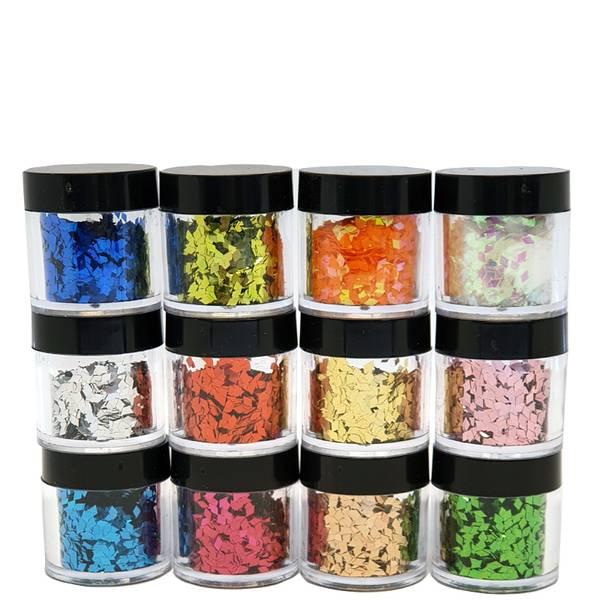 Bilde av Negldekor glitter 12 bokser i eske