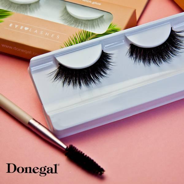 Bilde av Sminkekost - JUNGEL - Eyelash & Eyebrow