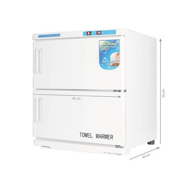 Bilde av Håndklevarmer med UV-C sterilisator 32 Liter - Hvit