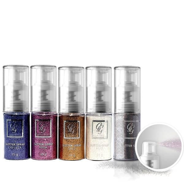 Bilde av Glitter spray - Glitter til negl , hår, hud