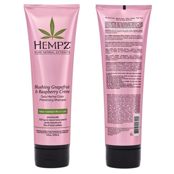 Bilde av Hempz Blushing Grapefruit & Raspberry Crème Herbal Shampoo