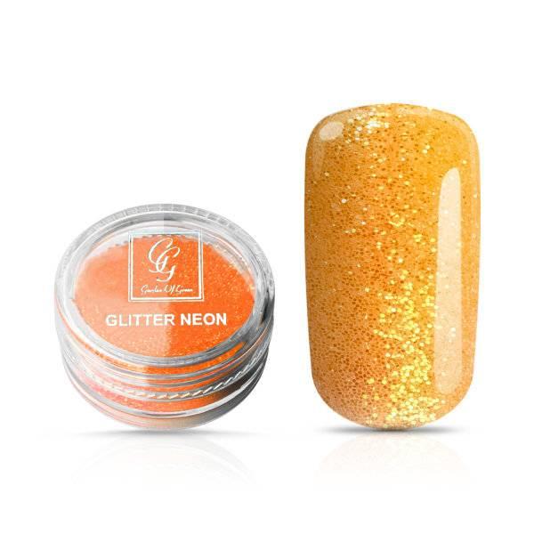 Bilde av Glitter Neon Oransje