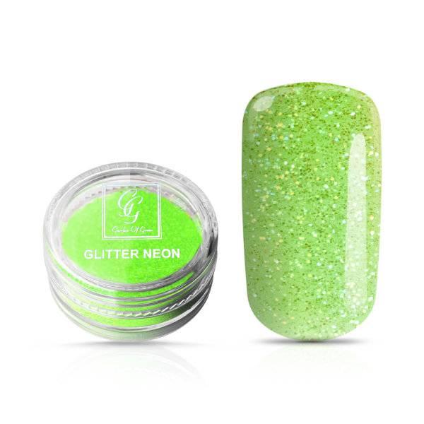 Bilde av Glitter Neon Grønn