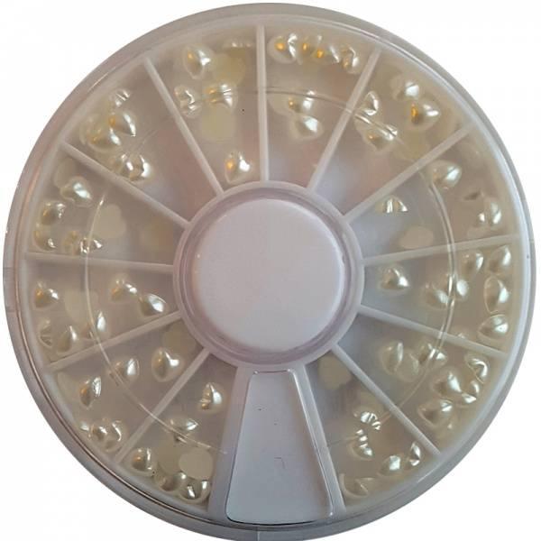 Bilde av Negldekor - Perlehjerter