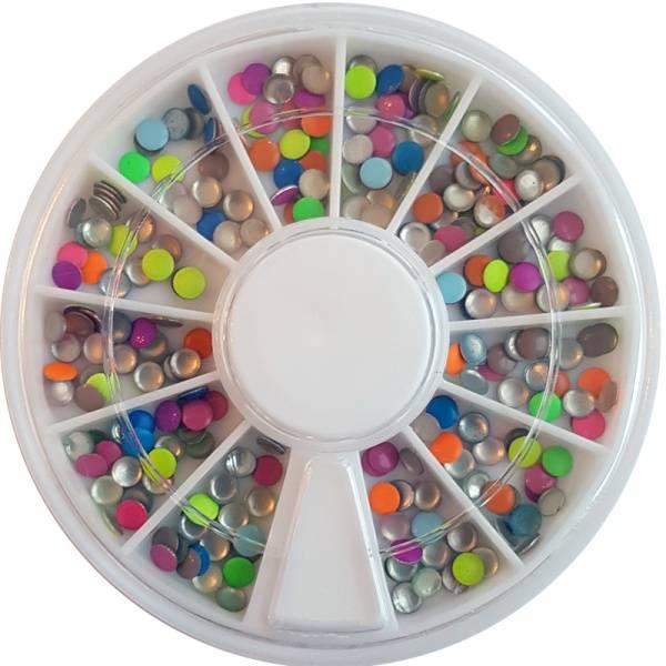 Bilde av Negldekor - Studs runde i farger