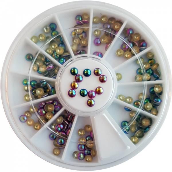 Bilde av Negldekor - Studs runde metallic