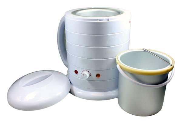 Bilde av Voksvarmer for 800g bokser m/kjele (Hvit)