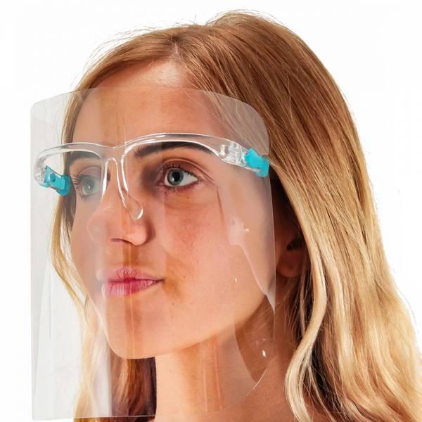Bilde av Beskyttelses brille med skjerm inkl, 5 skjermer