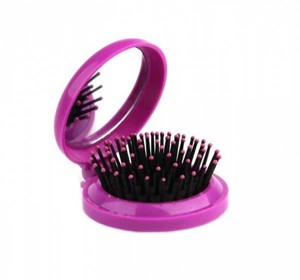 Bilde av Pop-up hårbørste med speil