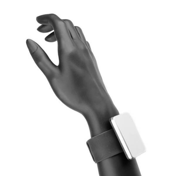 Bilde av Magnet armbånd - sort