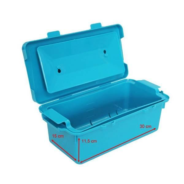 Bilde av Boks for sterilisering av utstyr 4,5L - Turkis